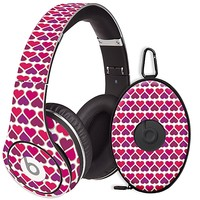 Hearts White Skin  for the Beats Studio Headphones & Case by skinzy.com