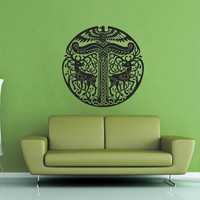 Celtic Knot Yggdrasil Wall Decal - No 2