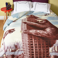 Quirky ModSloth Duvet Cover in Full, Queen by ModCloth
