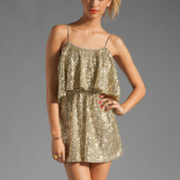 Lovers + Friends Sunkissed Dress in Gold Sequin from REVOLVEclothing.com