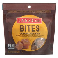 Larabar Bites - Caramel Sea Salt - Case Of 6 - 5.3 Oz