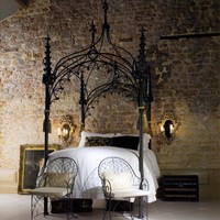 And So To Bed - The Gothic Gazebo Bed