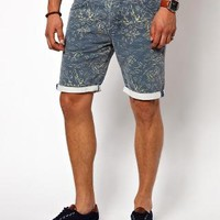 River Island | River Island Shorts with Japanese Print at ASOS