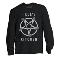 Hells Kitchen L/S T-Shirt - PYKNIC   YOUNG & HUNGRY