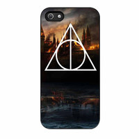 Hogwarts Deathly Hallows iPhone 5s Case