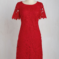 A Thing of Ruby Dress | Mod Retro Vintage Dresses | ModCloth.com