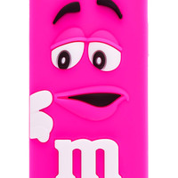Rose M&M Silicone iPhone 5 & 5S Case