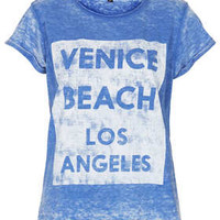 VENICE BEACH BURNOUT TEE