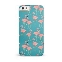 Tropical Flamingo v2 INK-Fuzed Case for the iPhone 5/5S/SE