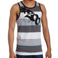 Zoo York Men's B.k Skum Jersey Tank Top, Grey, Medium