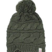 WOMEN'S TRIPLE CABLE POM BEANIE | United States