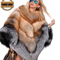 Silver Fox & Red Fox Coat
