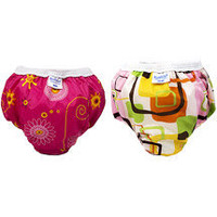 Kushies - Pull-On Training Pants for Girls, 2 Pack