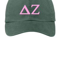 DZ / Delta Zeta / Choose Your Colors / Sorority Cap