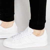 adidas Originals Stan Smith Trainers In White S75104 at asos.com