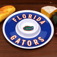 Florida Gators 12'' Melamine Chip & Dip Tray