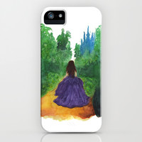 THE ENCHANTED FOREST  iPhone & iPod Case by Lauren Lee Designs