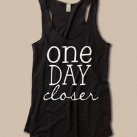 One Day Closer Tank. Deployment at ease designs usmc navy army usaf uscg clothing