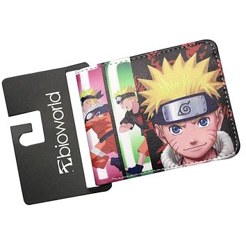 Japanese Naruto Dragon Ball Z Anime Wallets Mens Wallet Female Purse Short Coin Balso Dollar Price Leather carteras mujer Cards