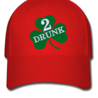 DRUNK 2 embroidery hat  - Flexfit Baseball Cap