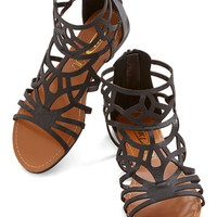 ModCloth Stained Glass Supplies Sandal