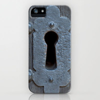 Looking through the key hole iPhone & iPod Case by Karl Wilson Photography