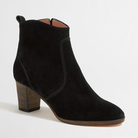Factory Quinn suede ankle booties : Boots | J.Crew Factory