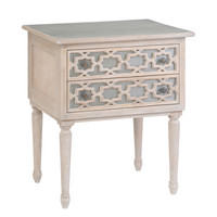 Moroccan Two Drawer Dresser