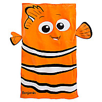 Nemo Beach Towel for Baby - Personalizable