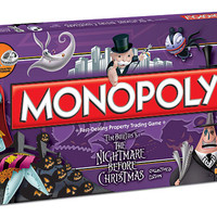 The Nightmare Before Christmas Monopoly