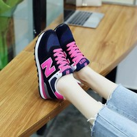 new balance fashion casual n words breathable women sneakers running shoes  0