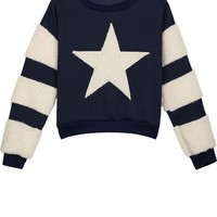 Star Fleece Sweatshirt