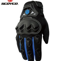 SCOYCO Professional Motocross Off-Road Racing Full Finger Gloves Motorcycle Riding Gloves Protective Gear Outdoor Sports Guantes