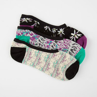 Vans 3 Pack Hey You Canoodle Womens Socks Multi One Size For Women 25219695701