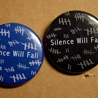 Silence Will Fall - Dr Who - TARDIS Blue or Black