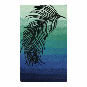 Nanette Lepore Ombre Feather Hook Rug