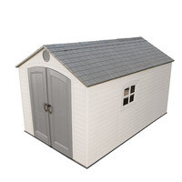 Lifetime 6402 Outdoor Storage Shed, 8 by 12.5 Feet