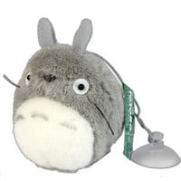 Gray Totoro Window Mascot