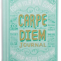 Chronicle Books 'Carpe Diem' Journal - Green