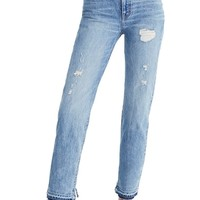 Madewell Classic Distressed Straight Leg Jeans (Tyler)   Nordstrom