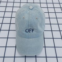 Women and Men off white Sports Sun Hat Baseball Cap Hat 501965868- 010