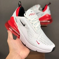 """Nike Air Max 270 """"White/University Red"""" Running Shoes - Best Deal Online"""