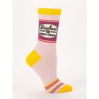 Duchess of Sassytown Women's Crew Socks