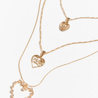 Sweetheart Chain Layering Necklace | Urban Outfitters