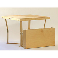 Spiderlegs CD3636-LC Hand Crafted & Custom Finished Puzzle Folding Table in Light Cherry