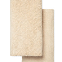 Twill Extra Long Bath Sheets (Set of 2)