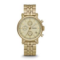 Original Boyfriend Chronograph Gold-Tone Stainless Steel Watch