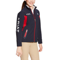 Ariat Youth FEI New Team Softshell - Navy