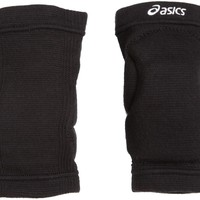 asics unisex volleyball slider knee pads junior youth pair black one size  number 2