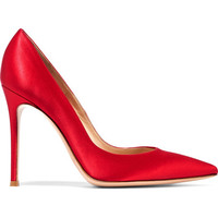 Gianvito Rossi - 105 satin pumps